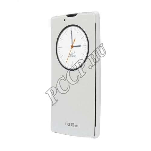 LG G4C fehér cover tok