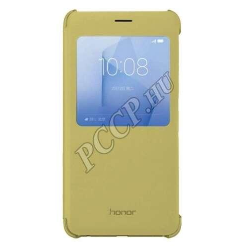Huawei Honor 8 arany S-View book cover tok