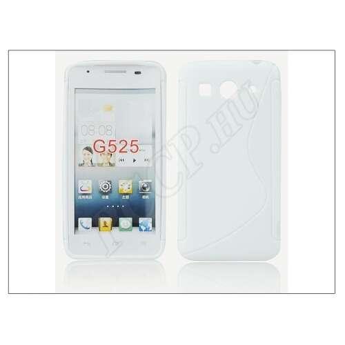 Huawei Ascend G525 fehér szilikon hátlap