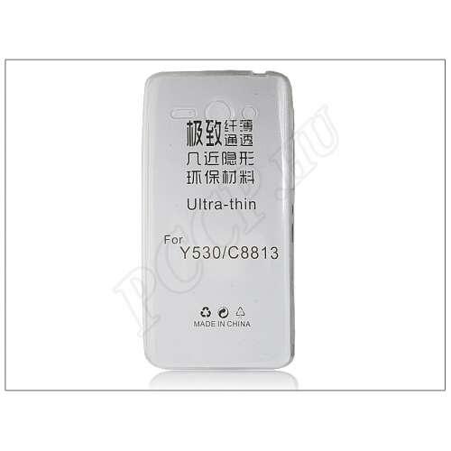Huawei Ascend Y530 átlátszó szilikon hátlap