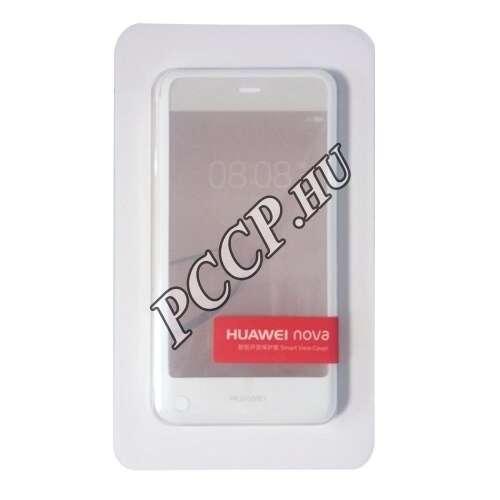 Huawei G9 (Nova) fehér smart cover tok