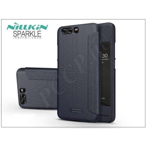 Huawei P10 fekete oldalra nyíló flip tok