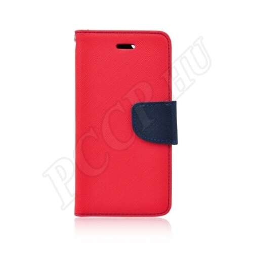 Huawei P30 kék-piros flip tok