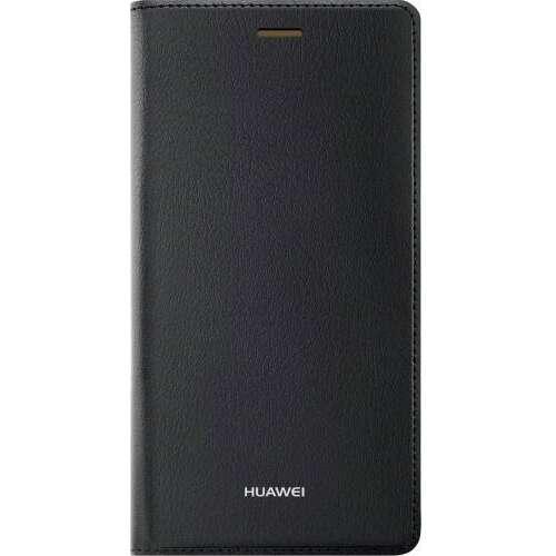 Huawei P8 fekete book cover tok