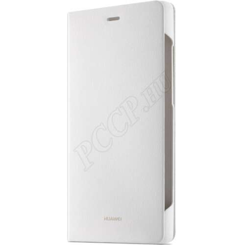 Huawei P8 Lite fehér book cover tok
