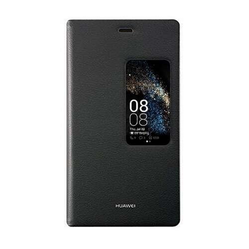 Huawei P8 fekete cover tok