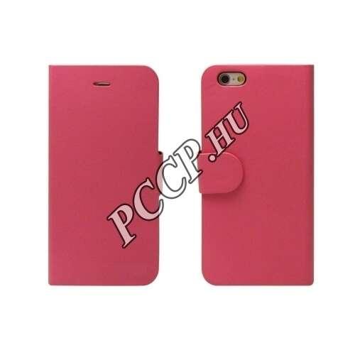 Huawei P9 pink flip oldalra nyíló tok