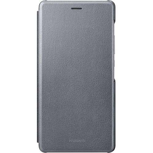 Huawei P9 Lite szürke book cover tok
