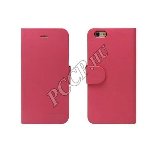 Huawei P9 pink Lite flip oldalra nyíló tok