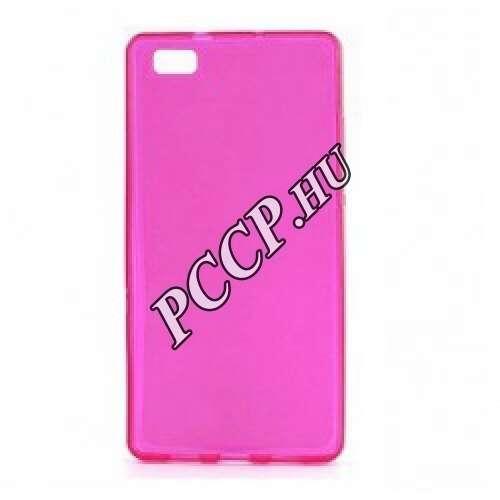 Huawei P9 Lite pink vékony szilikon hátlap