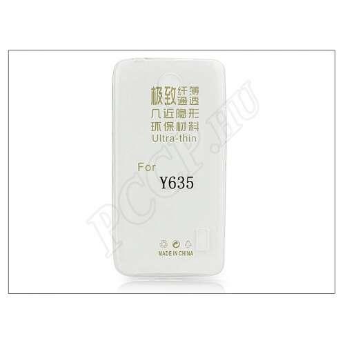 Huawei Y635 átlátszó szilikon hátlap