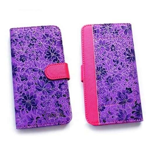Apple Iphone 6 lila flip oldalra nyíló tok