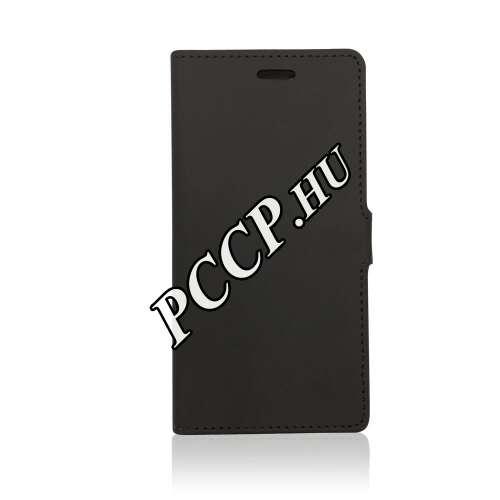 Apple Iphone 7 Plus fekete flip oldalra nyíló tok