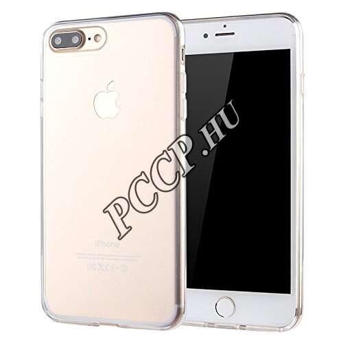 Apple Iphone 8 Plus átlátszó ultravékony szilikon hátlap