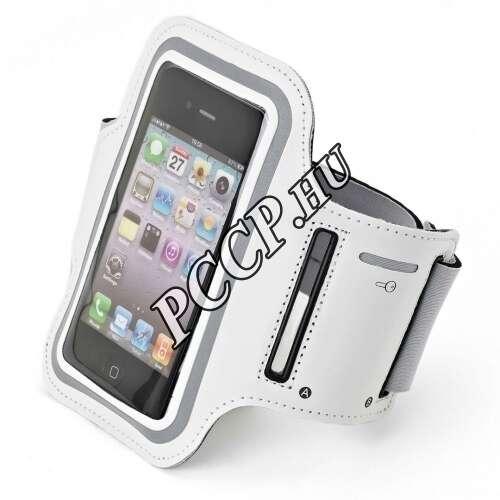 Iphone méretű fehér felkarpánt