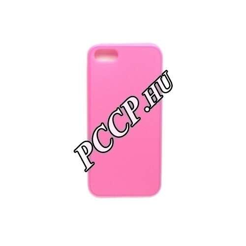 Iphone SE pink szilikon hátlap