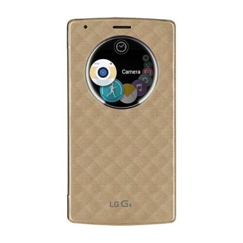 LG G4 arany book cover tok