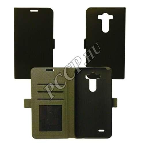 LG G5 fekete flip oldalra nyíló tok