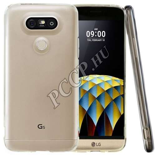 LG G5 átlátszó vékony szilikon hátlap