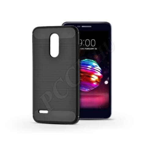 LG K10 (2018) fekete szilikon hátlap