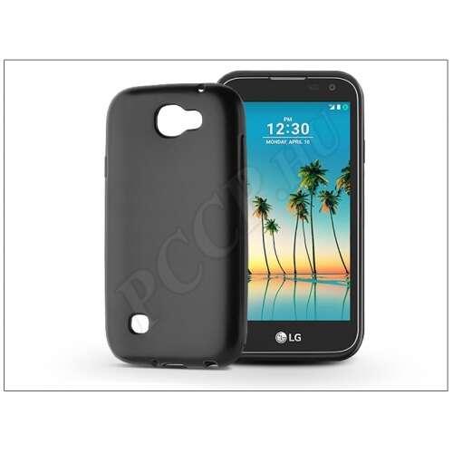 LG K3 (2017) szilikon fekete hátlap