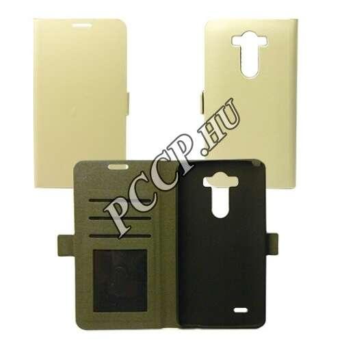 LG X Cam fehér flip oldalra nyíló tok