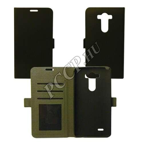 LG X Cam fekete flip oldalra nyíló tok