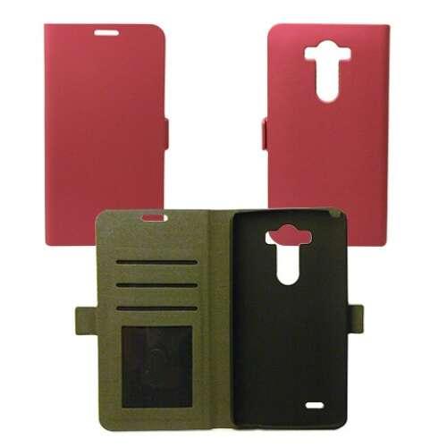 LG X Cam pink flip oldalra nyíló tok
