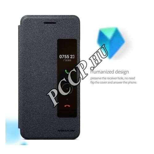 Huawei P10 fekete flip tok