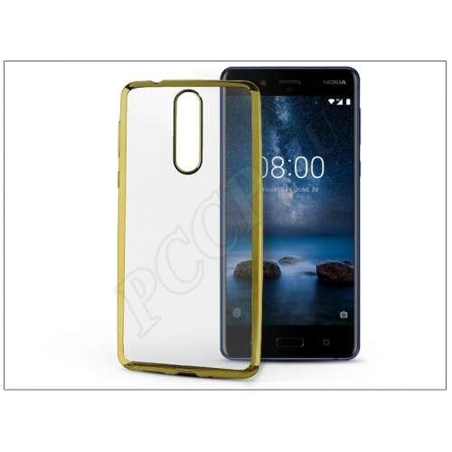 Nokia 8 arany szilikon hátlap