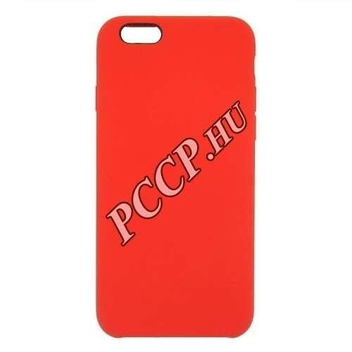 Apple Iphone 8 Plus piros prémium szilikon hátlap