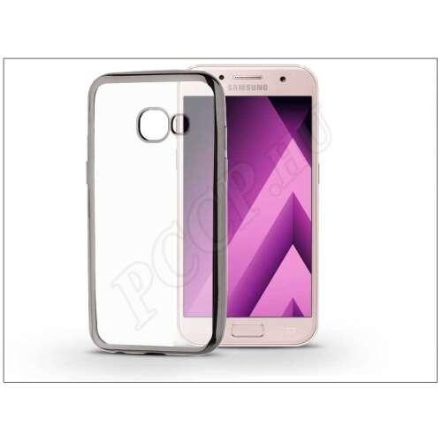 Samsung Galaxy A3 (2017) fekete szilikon hátlap