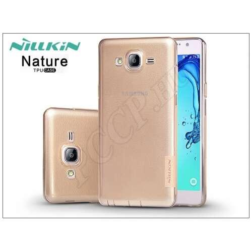 Samsung Galaxy On7 aranybarna szilikon hátlap