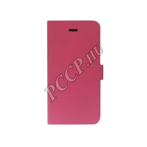 Samsung Galaxy A3 (2016) pink flip oldalra nyíló tok