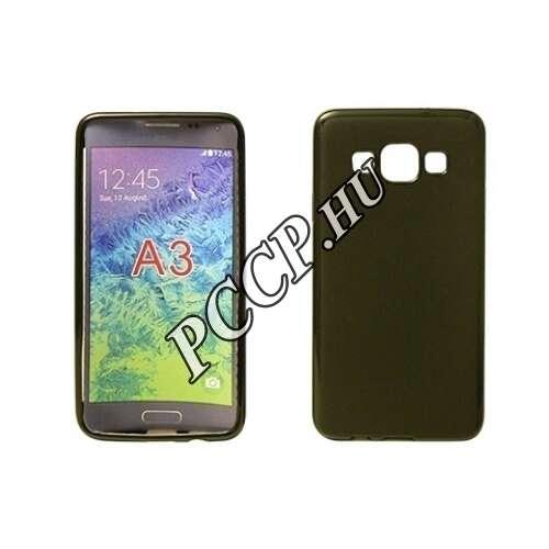Samsung Galaxy A310 fekete vékony szilikon hátlap