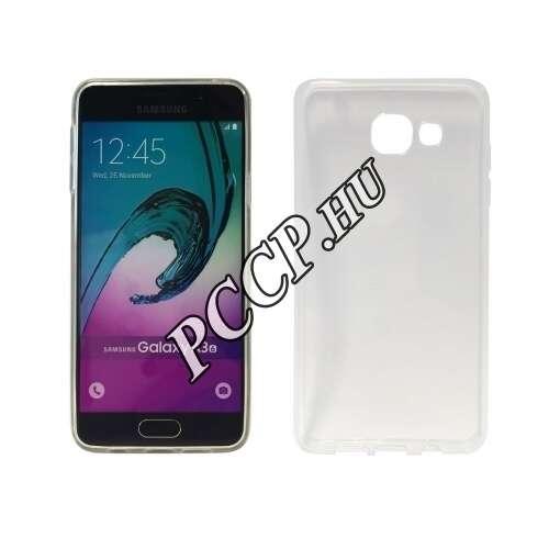 Samsung Galaxy A310 átlátszó vékony szilikon hátlap