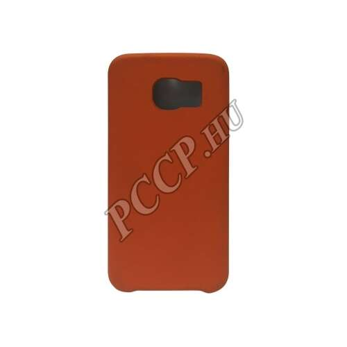 Samsung Galaxy A5 piros bőrhatású műanyag hátlap