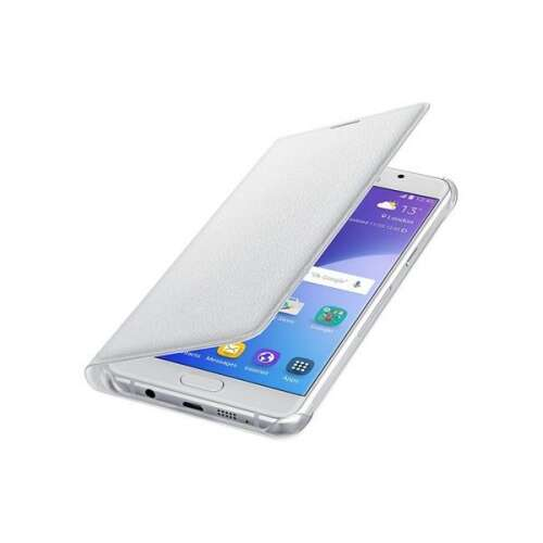 Samsung Galaxy A510 fehér flip cover tok
