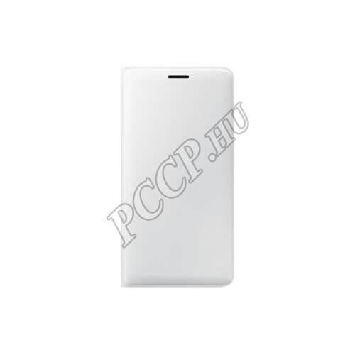 Samsung Galaxy J3 fehér flip cover tok