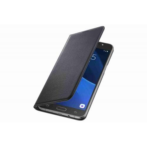 Samsung Galaxy J5 fekete book cover