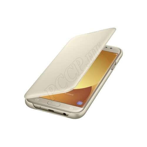 Samsung Galaxy J7 (2017) arany flip tok
