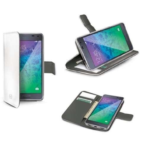 Samsung Galaxy Note 4 fehér flip tok