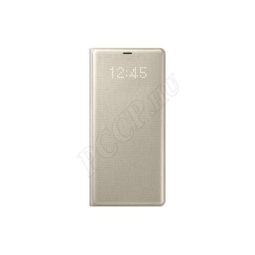 Samsung Galaxy Note 8 arany ledes cover tok