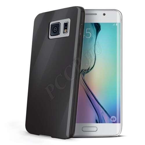 Samsung Galaxy S6 fekete vékony szilikon hátlap