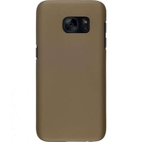 Samsung Galaxy S7 arany bőrhatású hátlap