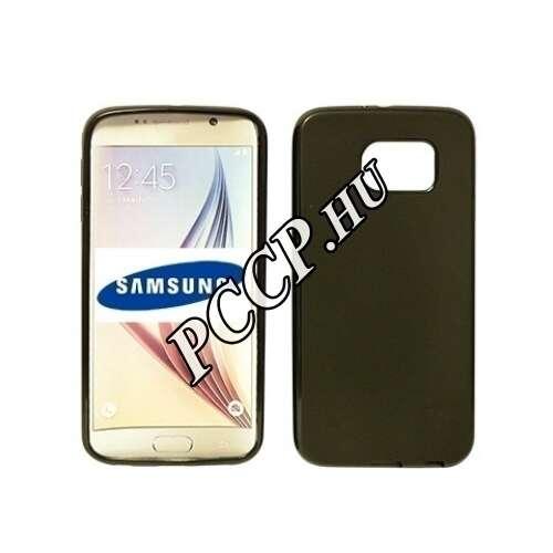 Samsung Galaxy S7 Edge fekete vékony szilikon tok