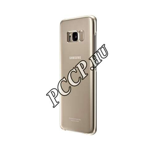 Samsung Galaxy S8 arany clear cover tok
