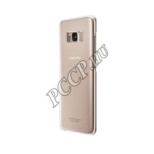 Samsung Galaxy S8 pink clear cover tok