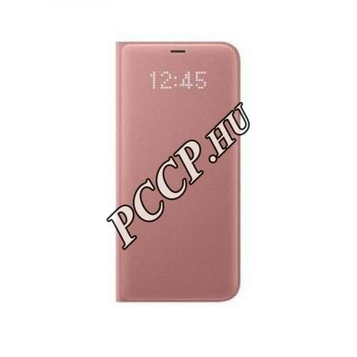 Samsung Galaxy S8 Plus pink led view cover tok