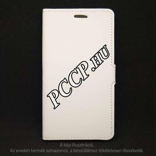 Samsung Galaxy S8 fehér oldalra nyíló tok